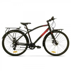 Bicicleta de oras PEGAS Hoinar1 8S, Negru Stelar