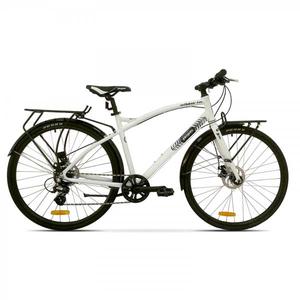 Bicicleta de oras PEGAS Hoinar1 8S, Alb Perlat