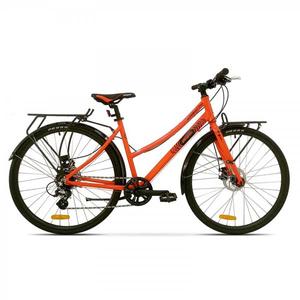 Bicicleta de oras PEGAS Hoinar2 8S, Portocaliu-Neon