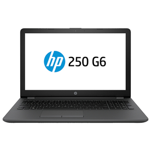 "Laptop HP 250 G6, Intel Celeron N3060 pana la 2.48GHz, 15.6"" HD, 4GB, SSD 128GB, Intel HD Graphics, Free Dos"