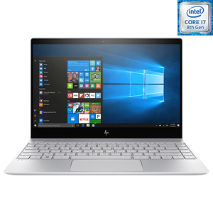 "Laptop HP Envy 13-ah0013nn, Intel® Core™ i7-8550U pana la 4GHz, 13.3"" Full HD, 8GB, SSD 256GB, NVIDIA GeForce MX150, Windows 10 Home"