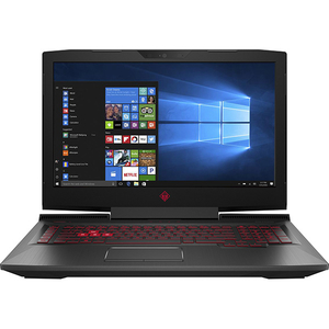"Laptop Gaming Omen by HP 17-an105nq, Intel Core i7-8750H pana la 4.1GHz, 17.3"" Full HD, 8GB, HDD 1TB + SSD 128GB, NVIDIA GeForce GTX 1060 6GB, Windows 10 Home"