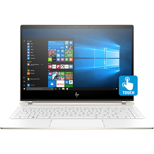 "Laptop 2 in 1 HP Spectre 13-af000nn, Intel® Core™ i5-8250U pana la 3.4GHz, 13.3"" Full HD IPS Touch, 8GB, SSD 256GB, Intel® UHD Graphics 620, Windows 10 Home, Ceramic White"