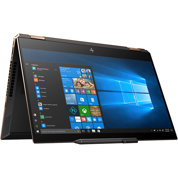 "Laptop 2 in 1 HP Spectre x360 15-df0011na, Intel® Core™ i7-8565U pana la 4.6GHz, 15.6"" Full HD, 16GB, SSD 512GB, NVIDIA GeForce MX150 2GB, Windows 10 Home"