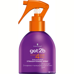 Spray pentru par SCHWARZKOPF Got2b Straight on 4 days, 200ml