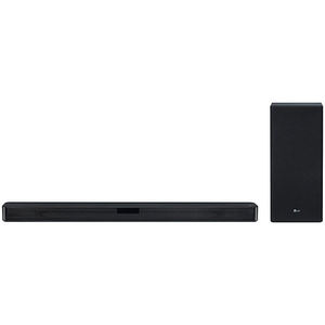 Soundbar 2.1 LG SL5Y, 400W, Bluetooth, Subwoofer Wireless, negru
