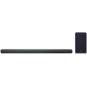 Soundbar 5.1.2 LG SL10, 570W, Bluetooth, Wi-Fi, Subwoofer Wireless, negru