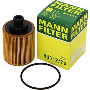 Filtru ulei MANN Hu712/7X Opel Astra H 1.3 Cdti