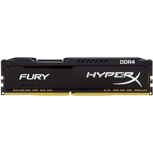 Memorie desktop KINGSTON HyperX Fury Black, 16GBB DDR4, 3200Mhz, CL18, HX432C18FB/16