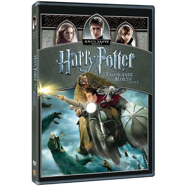 Harry Potter si Talismanele Mortii Partea I DVD