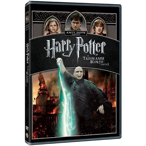 Harry Potter si Talismanele Mortii Partea II DVD