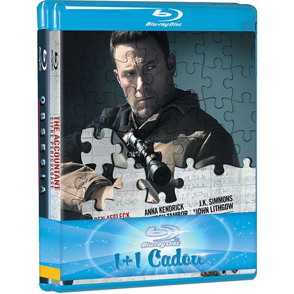 Pachet filme: Obsesia si The Accountant: Cifre periculoase Blu-ray