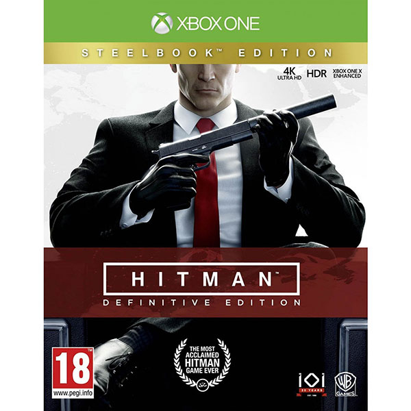 Hitman: Definitive Edition Steelbook Edition Xbox One