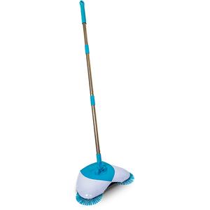 Matura rotativa MEDIASHOP Spin Broom, alb - albastru