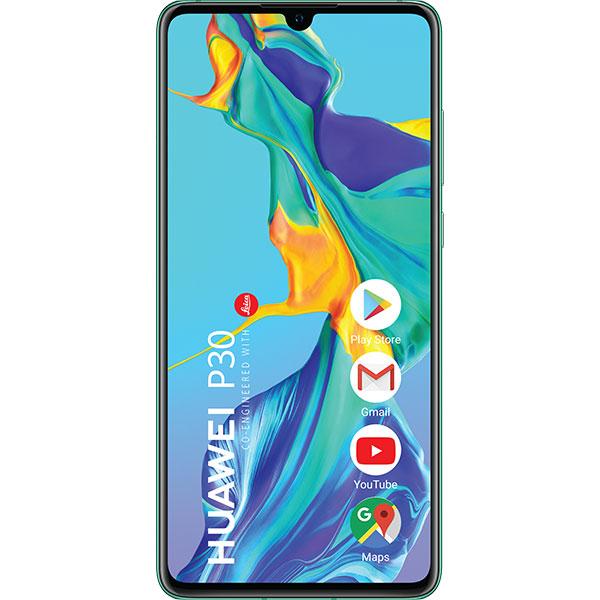 Telefon HUAWEI P30, 128GB, 6GB RAM, Dual SIM, Aurora Blue