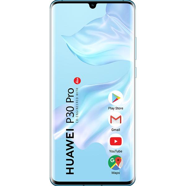 Telefon HUAWEI P30 Pro, 256GB, 8GB RAM, Dual SIM, Breathing Crystal