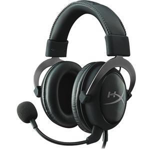Casti Gaming HyperX Cloud II Gun Metal, 7.1 surround, USB, 3.5mm, negru