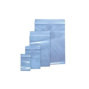 Pungi ziplock VOLUM, 200 x 250 mm, polietilena, 100 bucati, transparent