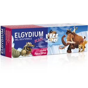 Pasta de dinti gel ELGYDIUM Ice Age, aroma capsuni, 2 - 6 ani, 50ml