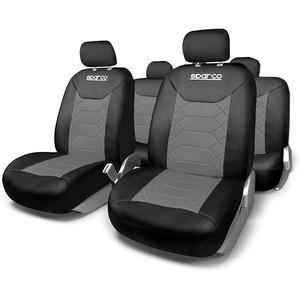 Set huse scaune SPARCO IN2163, gri-negru