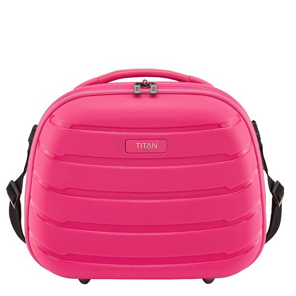 Geanta cosmetice TITAN Limit, roz