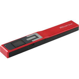 Scanner portabil Iris IRIScan Book 5, rosu