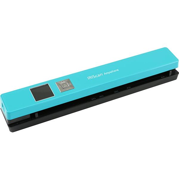 Scanner portabil Iris IRIScan Anywhere 5, albastru