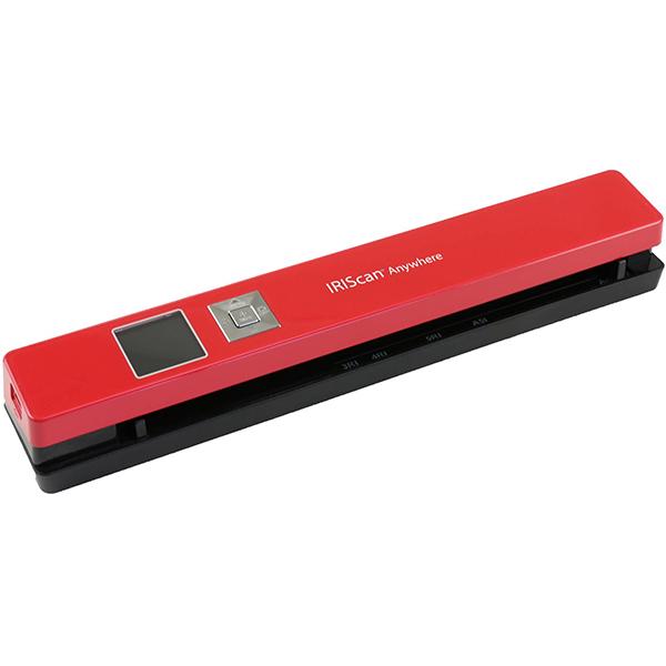 Scanner portabil Iris IRIScan Anywhere 5, rosu