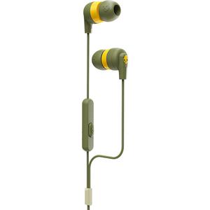 Casti SKULLCANDY Ink'd+, S2IMY-M687, Cu fir, In-Ear, Microfon, verde-galben