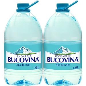 Apa plata de izvor BUCOVINA bax 5L x 2 sticle