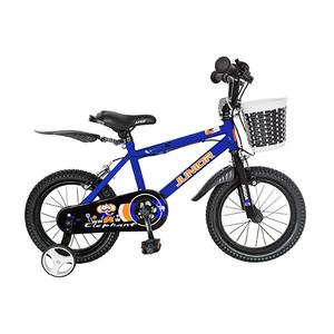 """Bicicleta de copii JUNIOR J1401A, 14"""", albastru"""