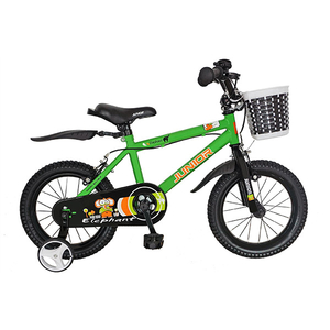 "Bicicleta de copii JUNIOR J1601A, 16"", verde"