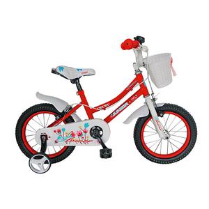 """Bicicleta de copii JUNIOR J1602A, 16"""", rosu"""