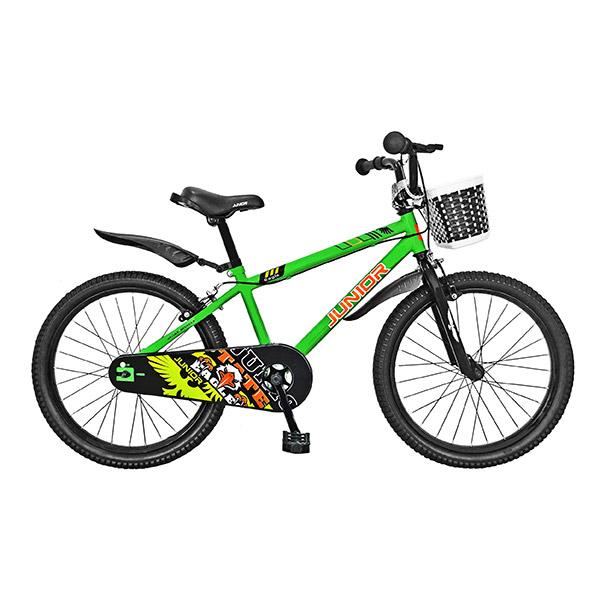 """Bicicleta de copii JUNIOR J2001A, 20"""", verde"""