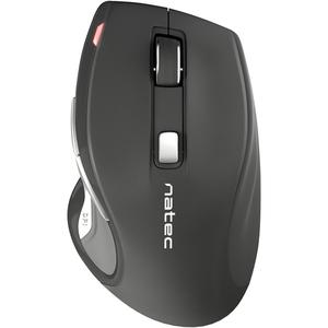 Mouse Wireless NATEC Jaguar, 2400 dpi, negru