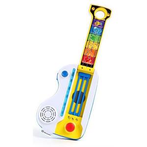 Jucarie muzicala BABY EINSTEIN 2 in 1 chitara si pian Flip&Riff Keytar, 1 - 3 ani, multicolor