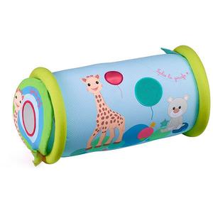 Jucarie interactiva VULLI Rollin Girafa Sophie, 6 luni+, multicolor