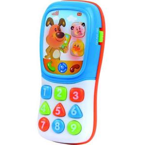 Jucarie interactiva LITTLE LEARNER Primul meu telefon distractiv 4266T, 12 luni+, multicolor