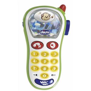 Jucarie CHICCO Telefon cu vibratii si camera foto, 6 luni - 2 ani, multicolor
