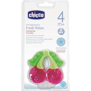 Jucarie dentitie CHICCO forma cireasa, 4 luni +, multicolor