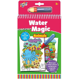 Set carte de colorat GALT Animals Water Magic A3079H, 3 ani +, multicolor