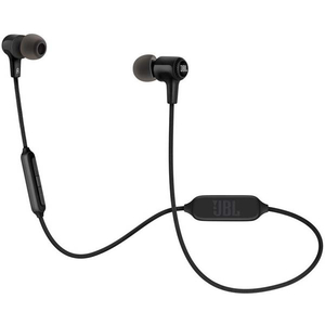 Casti JBL E25BT, Bluetooth, In-Ear, Microfon, negru