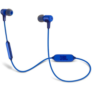 Casti JBL E25BT, Bluetooth, In-Ear, Microfon, albastru