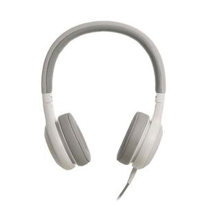 Casti JBL JBLE35WHT, microfon, on ear, cu fir, alb
