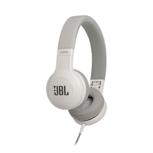 Casti JBL E35, Cu Fir, On-Ear, Microfon, alb