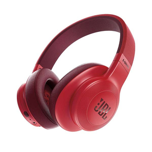 Casti JBL E55BT, Bluetooth, On-Ear, Microfon, rosu