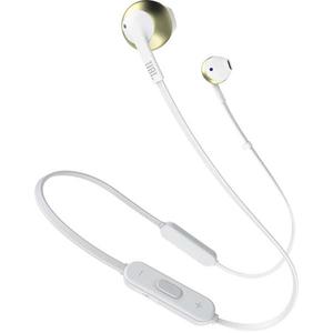 Casti JBL TUNE 205BT, Bluetooth, In-Ear, Microfon, auriu