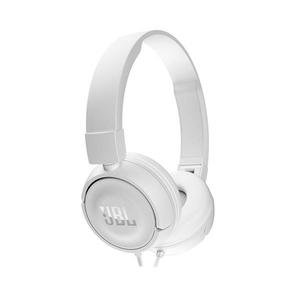 Casti on-ear cu microfon JBL JBLT450WHT, alb