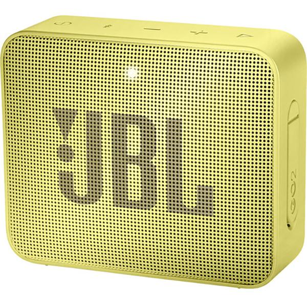 Boxa portabila JBL Go 2, Bluetooth, Waterproof, galben