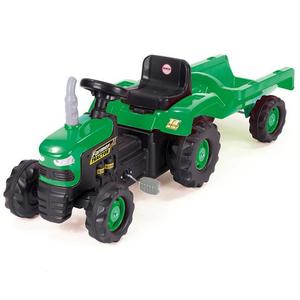 Tractor cu remorca  DOLU D8053, 3 ani +, verde - negru